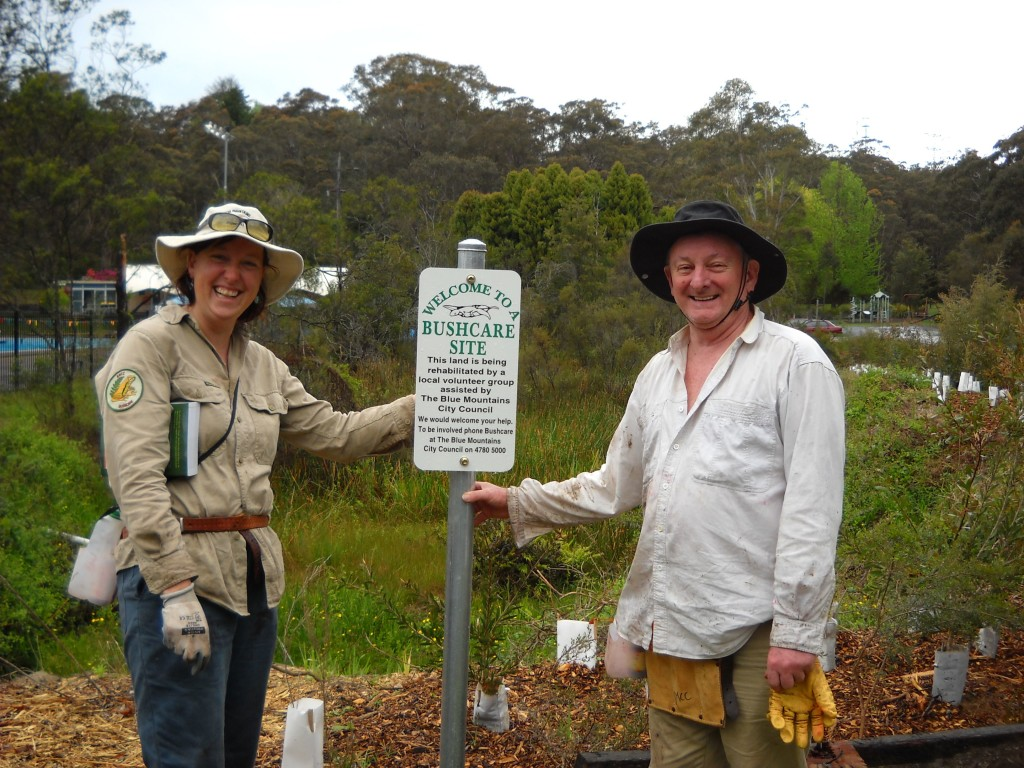 Erin Hall and Ray Richardson, North Lawson, October 2010